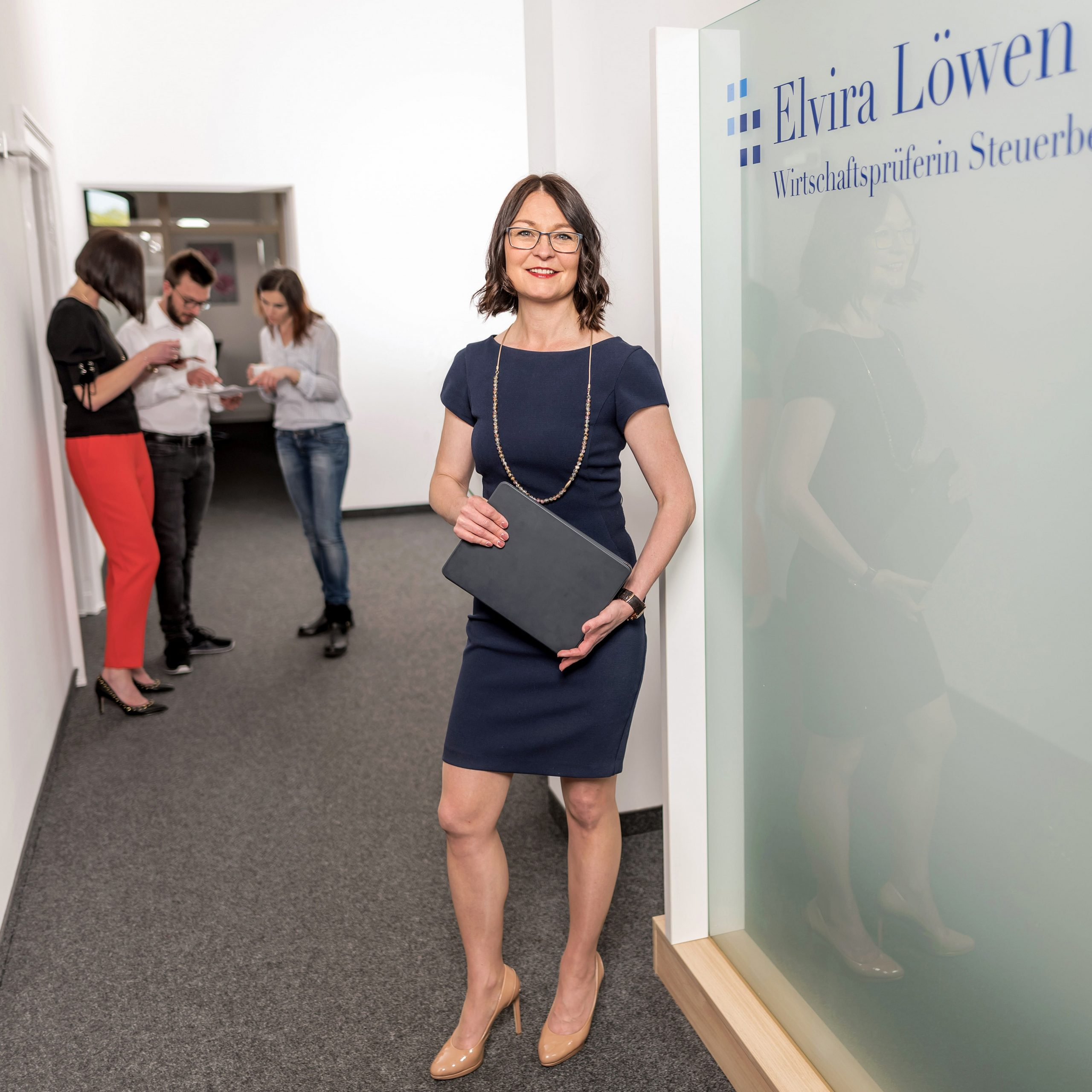 Empfang von Elvira Löwen - Wirtschaftsprüferin und Steuerberaterin in Windeck